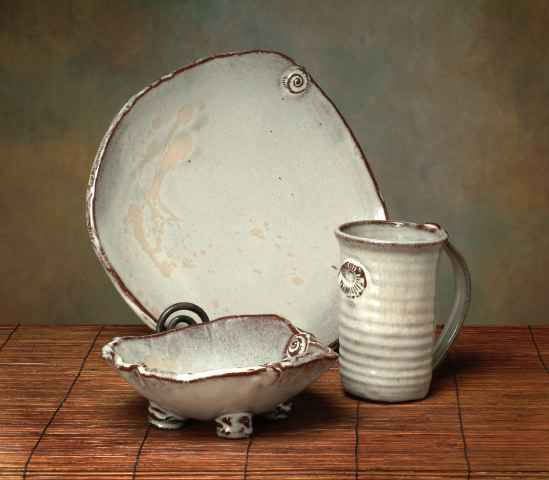 Vanilla Bean glaze www.earthbornpottery.net