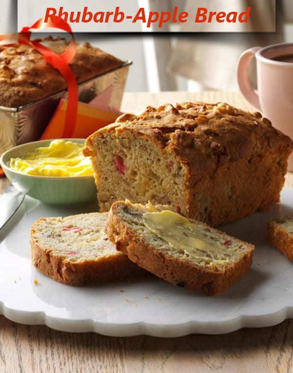 How To Make Rhubarb Apple Bread Recipes Di 2020