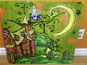 Art plastique: illustratif naif, enfantin