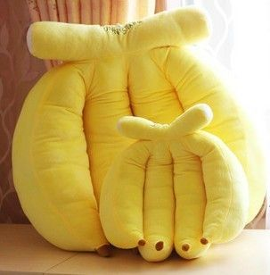 how to make a banana pillow