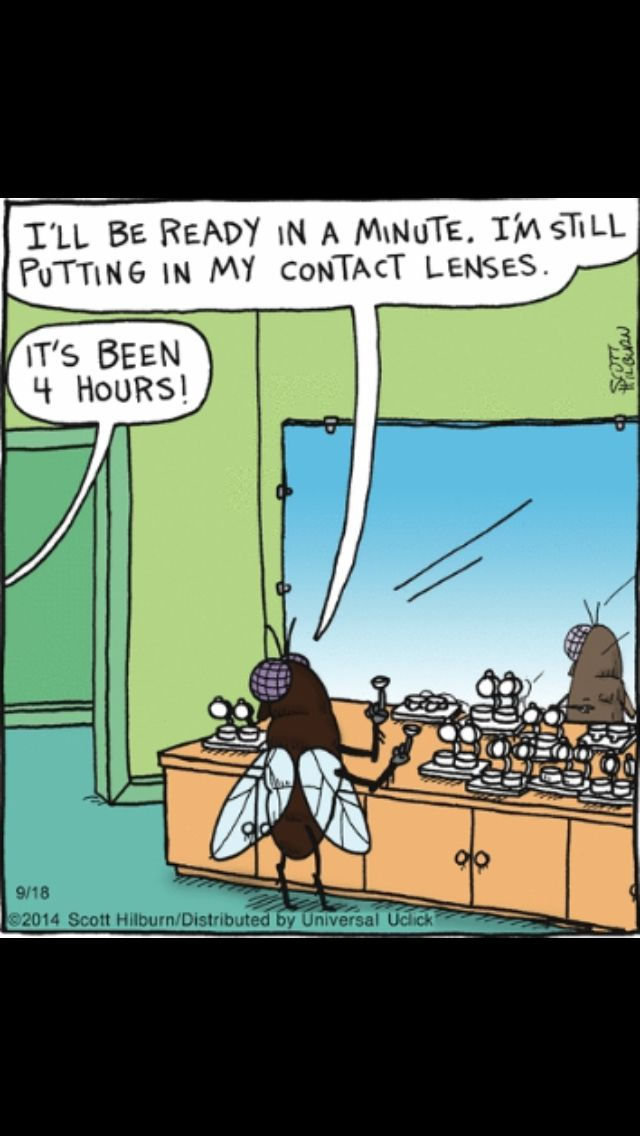 Cartoon strip contacts