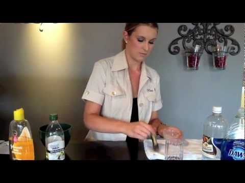 @Brianne Bruggema demonstrates how to properly clean your makeup brushes with at home products!