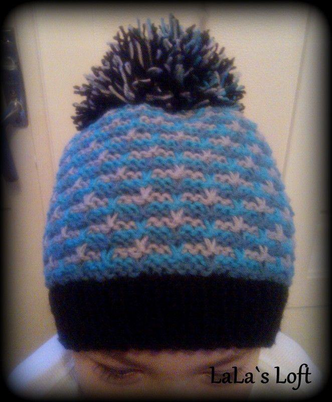 Hat for my prince - go to my blog for instructions :)