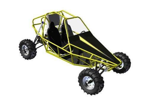 ST3 Two Seater buggy plan from badlandbuggy.com