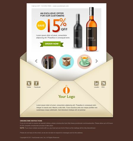 7 best Email Newsletter templates images on Pinterest | Email ...