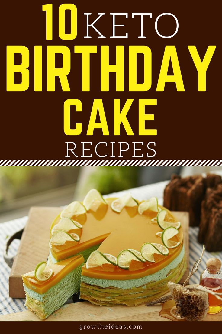 Remarkable 15 Keto Birthday Cake Recipes In Minutes With Images Keto Birthday Cards Printable Benkemecafe Filternl