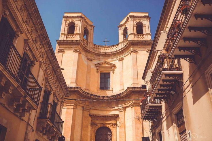 Rue de Noto, Sicile // Street in Noto, Sicily