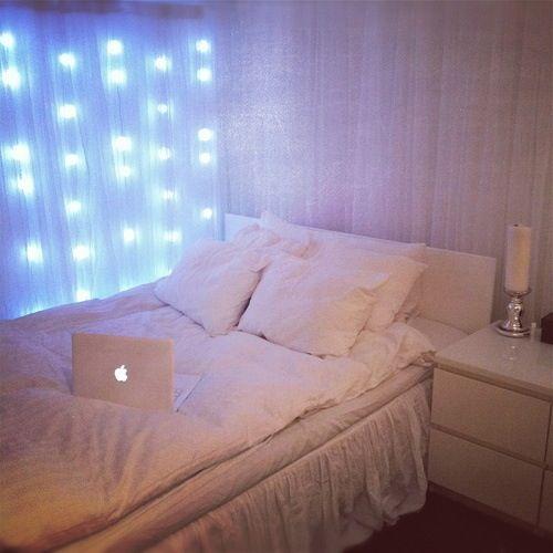 Makuuhuoneen valaistus.  #sisustus #diy