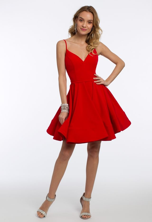 This dress will be your Valentine this year! A simple short cocktail dress 4e63b4eb9