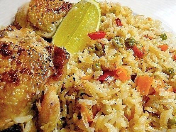 (52) Одноклассники - Рис с курицей - Arroz con pollo
