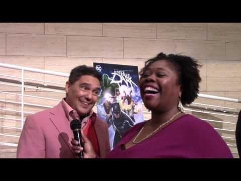 Toon Talk: Nicholas Turturro (Deadman) Justice League Dark @paleycenter @NickTurturro1 #JLDark #PaleyCenter #Deadman #NickTurturro #ToonTalk #RedCarpet #Fangirl #CherryLosAngeles