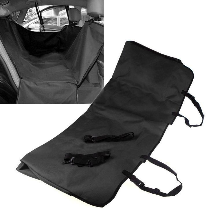 Сзади автомобиля на заднем сиденье Собака Кошка водонепроницаемый чехол безопасности протектор Гамак Мат 135x135x55 см