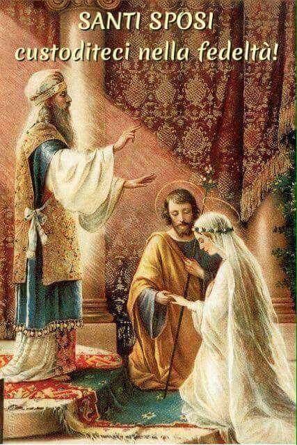 Santi Sposi custoditeci nella fedeltà