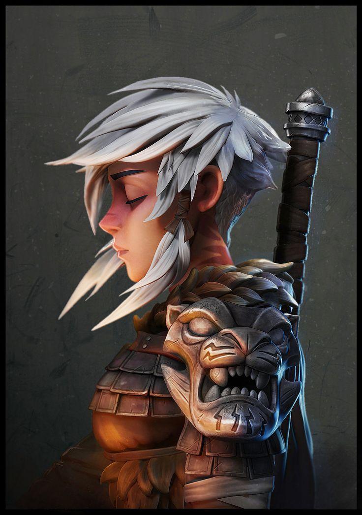 ArtStation - Warrior, Ahmad Samy
