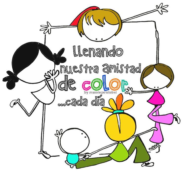 llenar de color(es)
