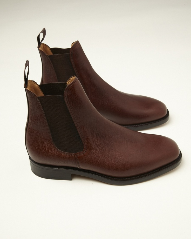 MARK MCNAIRY FOR YMC LEATHER CHELSEA BOOTS