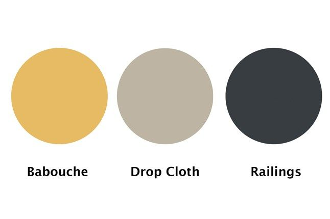 Drop Cloth | Paint Ideas for new Farrow