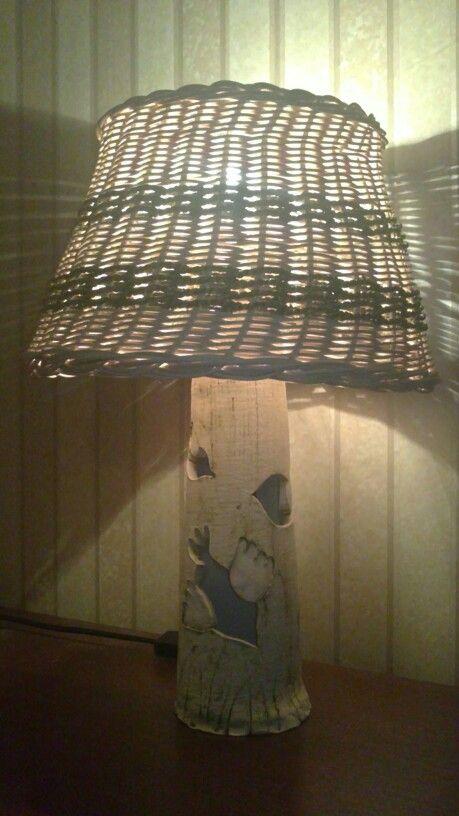 Lampa s ptáčky