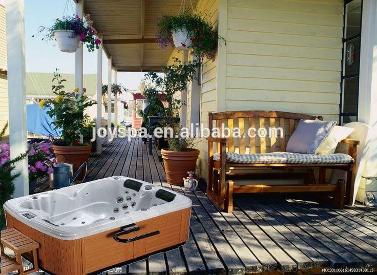 """Hot sell 3 person indoor whirlpool bathtub,hot spa tub outdoor swim spa,hottub outdoor"""