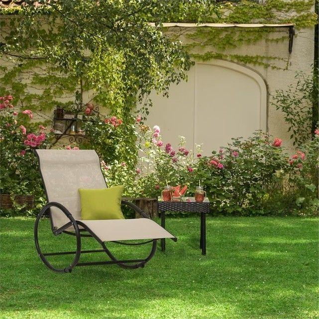 Https Www Laredoute Fr Ppdp Prod 514035440 Aspx Fauteuil A Bascule Chaise Longue Decoration Exterieur
