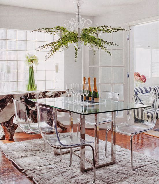 17 Best ideas about Glass Tables on Pinterest Glass dining table