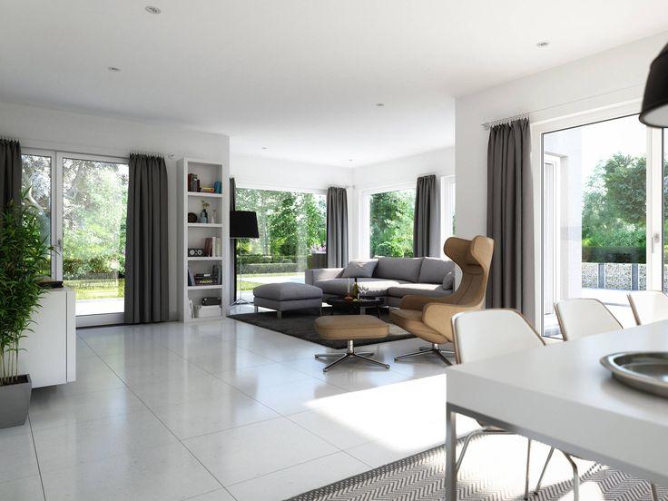 Das Wohnzimmer im Haus Sunshine 165 von Living Haus Gabeln - offene küche wohnzimmer trennen