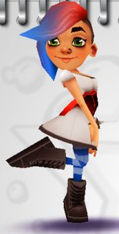 I think it would be really cool to do a cosplay with Lucy.  She is my favorite subway surfers character.
