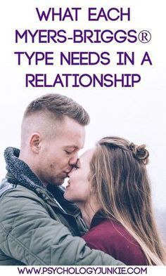 Discover what each Myers-Briggs®️️ type needs in a relationship. #MBTI #INFJ #INFP #INTJ #INTP #ENFP