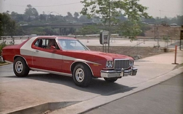Everyone Wanted A Starsky And Hutch Car With Jacked Up Rear Wheels