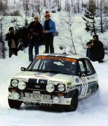 MC 1980 - S. Servia - Ford Fiesta MKI Gr.2