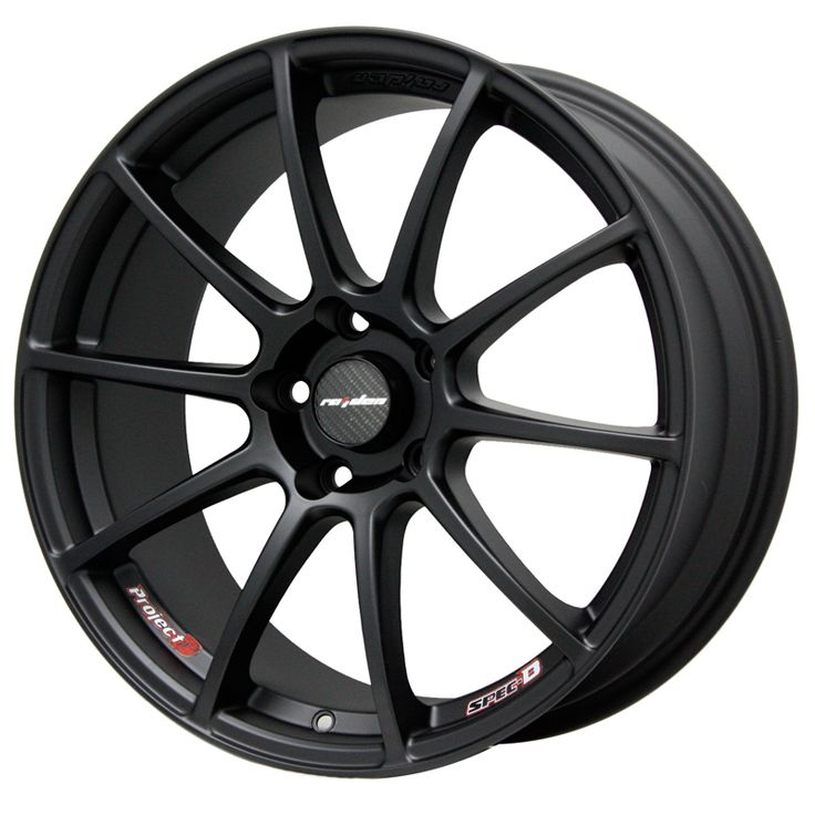 LENSO SPEC B MATT BLACK alloy wheels with stunning look for 4 studd wheels in MATT BLACK finish with 17 inch rim size
