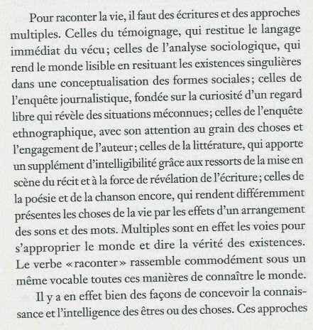 ETC-ISTE : Pour raconter la vie - Pierre Rosanvallon