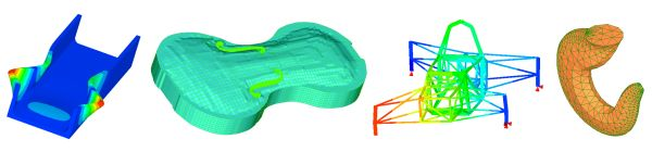 LISA - Finite element analysis package for Windows