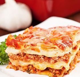 Lasagna al estilo de Sabor Sazón - Receta en espanol - Segundo