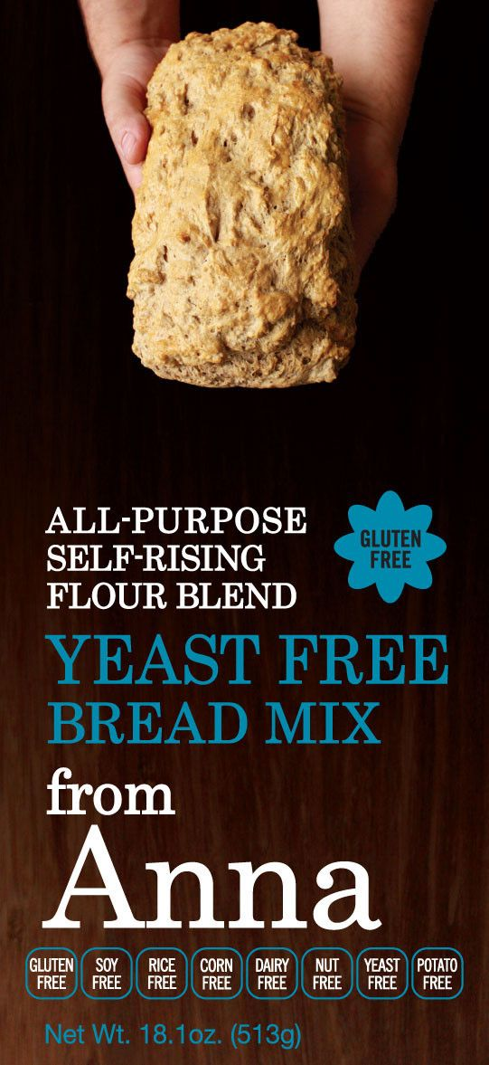 Yeast Free Bread Mix - OK, THIS prepared flour is free from all the Wheat Belly items. a Must try.