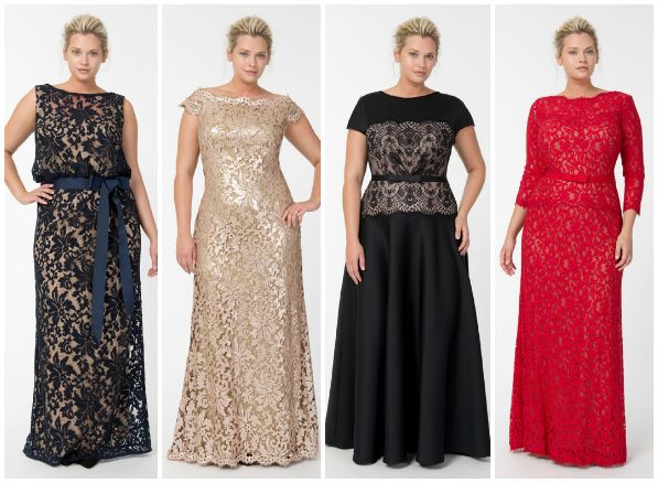 @Tadashi Shoji Fall/Holiday #plussize Collection - extraordinary lace. Details in linked blog post!