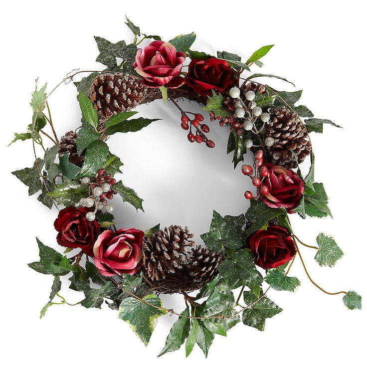 A hearty Christmas wreath can instantly transform any room. From fabulous real foliage to playful pom poms, here's our pick of the best wreaths this season