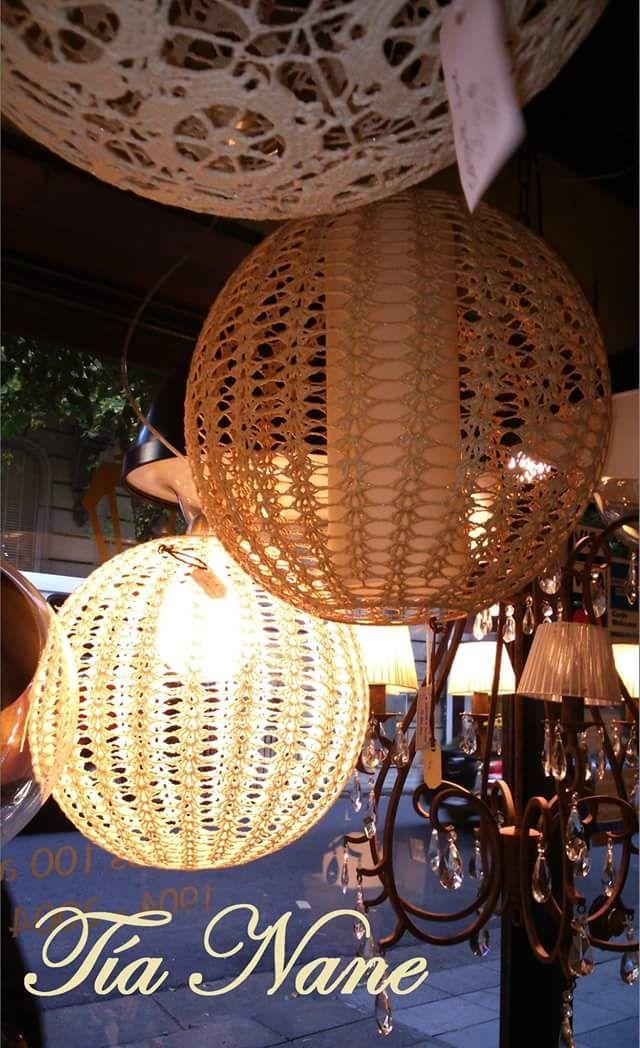 Colgantes tejidos a crochet 24 best Iluminacin