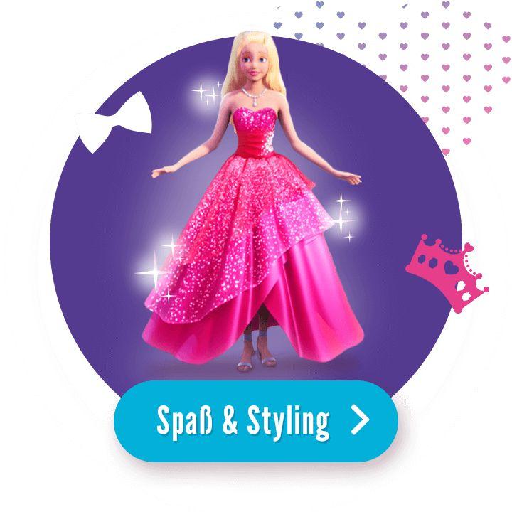 Barbie Spiele Schminken Und Anziehen