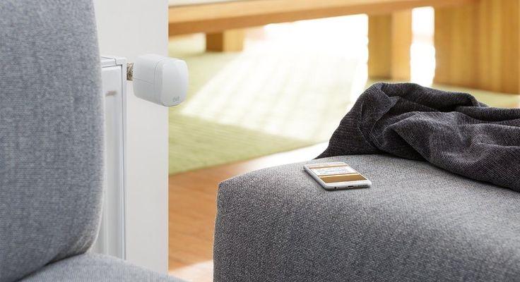 maison connectée : Eve Thermo / thermostat intelligent pour gérer le chauffage