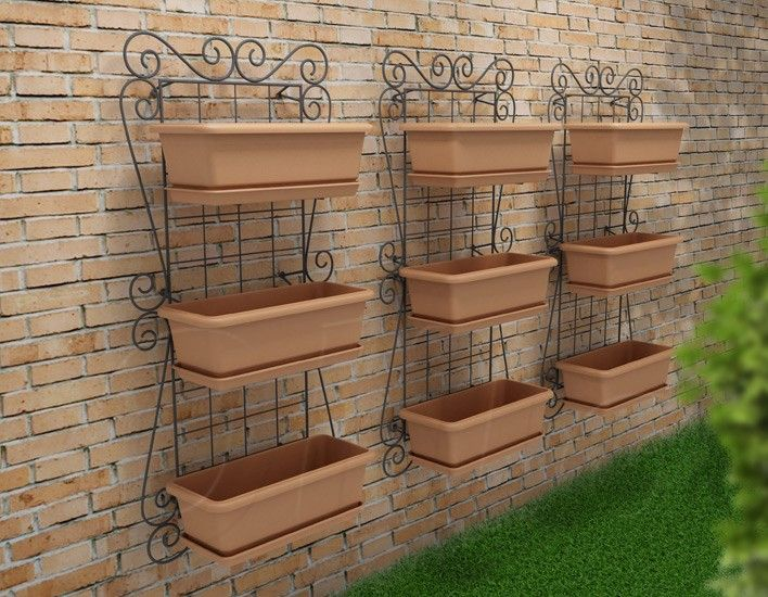 OLILO Casa e Jardim - Super Kit Horta Vertical Jardim Suspenso120x60