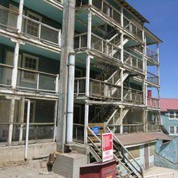 ©UNESCO / F. Bandarin - Chile - Libertador General Bernardo O'Higgins Region, Province of Cachapoal, Municipality of Machali - Sewell Mining Town
