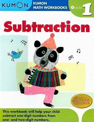 Pdf Download Subtraction Grade 1 Kumon Math Workbooks By Michiko Tachimoto Free Epub Kumon Math Math Workbook Math Subtraction