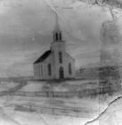 Old Iona church Cape Breton