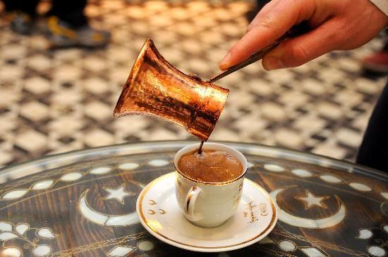 coffee in Istanbul, Turkey