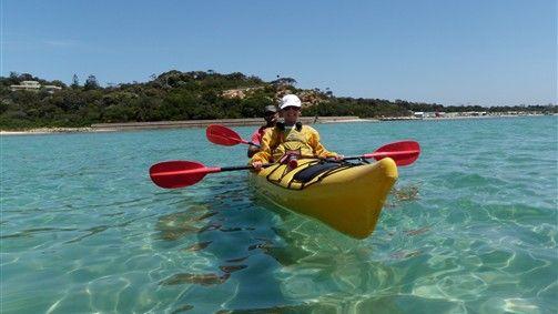 Sorento sea kayak day tour  $139