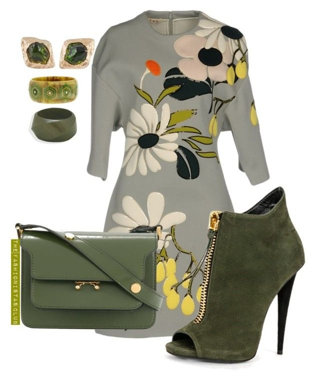 """The Fashionistas CLUB"" by kemiakinajayi on Polyvore featuring Marni, BillyTheTree and Mark Davis"