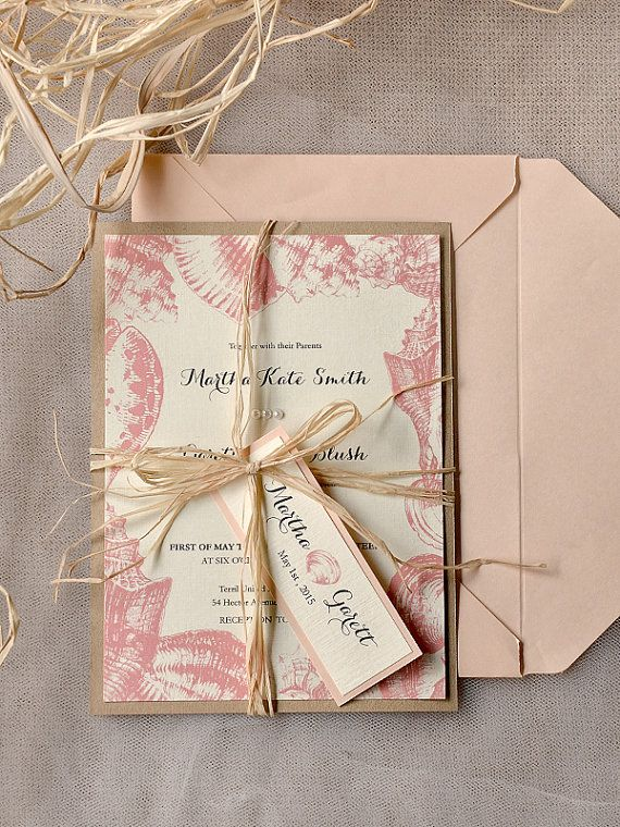 Best 20 Coral Wedding Invitations Ideas On Pinterest