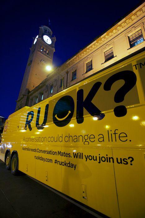 RUOK? bus