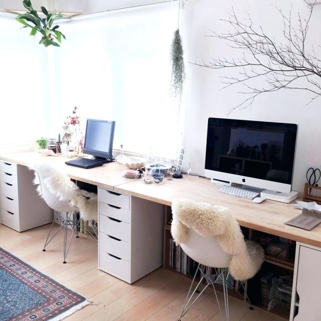 Image Result For Ikea Double Desk Corner Home Office Design Ikea Alex Desk Home Office Decor